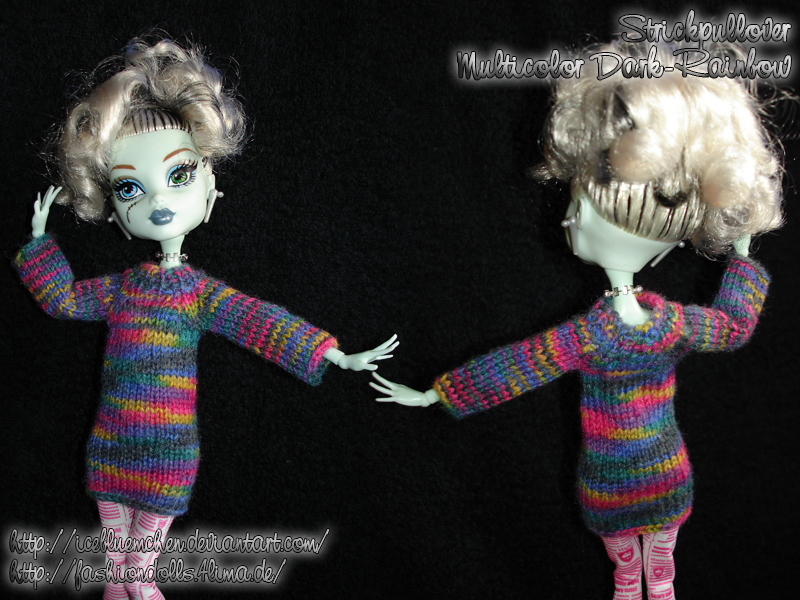 Tiny Sweater - Multicolor-darkrainbow