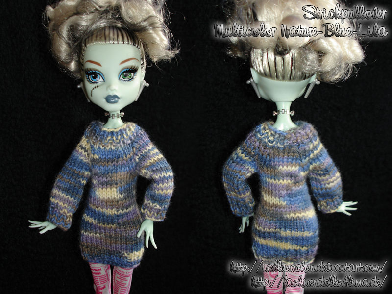 Tiny Sweater - Multicolor-nature-blue-lila