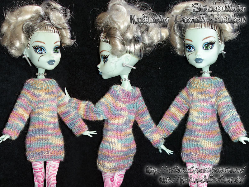 Tiny Sweater - Multicolor-pastell-rainbow