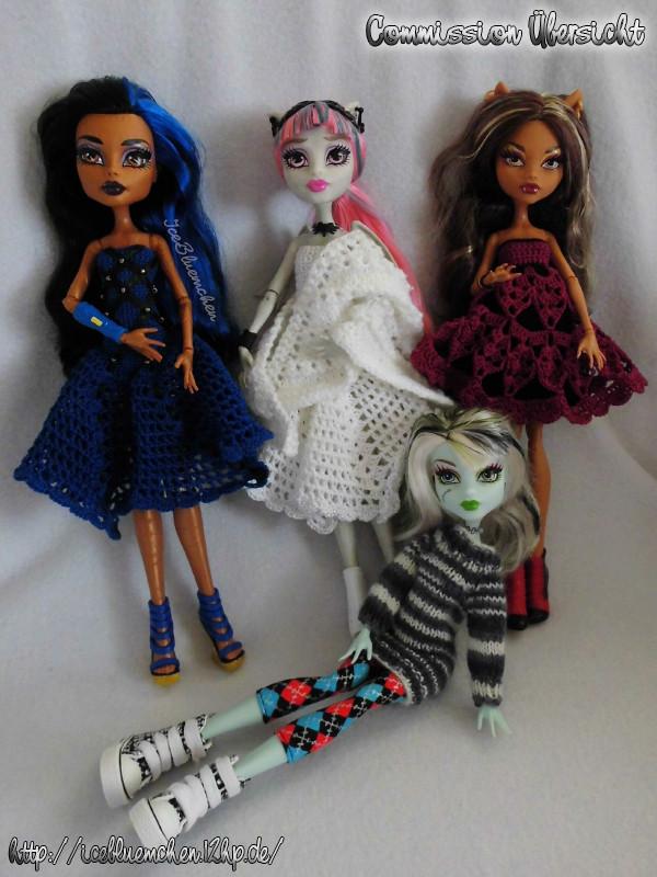 Monster High neu eingekleidet